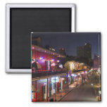 USA, Louisiana, New Orleans. French Quarter, Square Magnet