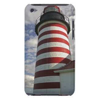 USA, Maine, Lubec. West Quoddy Head LIghthouse Barely There iPod Case