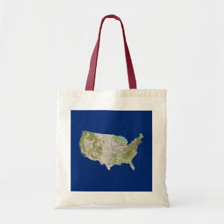 USA Map Bag