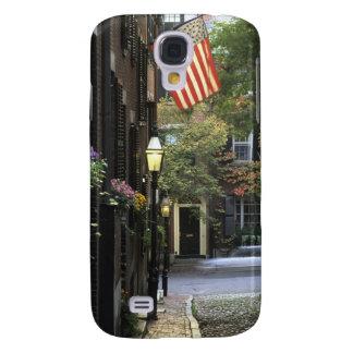 USA, Massachusetts, Boston, Beacon Hill. Samsung Galaxy S4 Covers