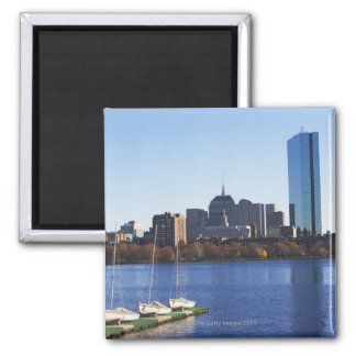 USA, Massachusetts, Boston skyline Magnet