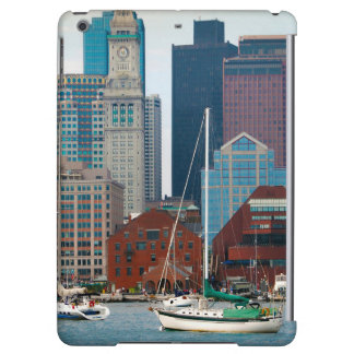 USA, Massachusetts. Boston Waterfront Skyline