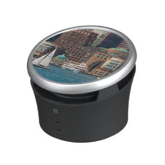 USA, Massachusetts. Boston Waterfront Skyline 2 Bluetooth Speaker