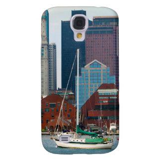 USA, Massachusetts. Boston Waterfront Skyline Samsung Galaxy S4 Cover