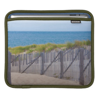 USA, Massachusetts. Dunes And Path Sleeves For iPads