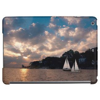 USA, Massachusetts. Sunset Sailing