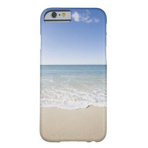 USA, Massachusetts, Waves at sandy beach iPhone 6 Case