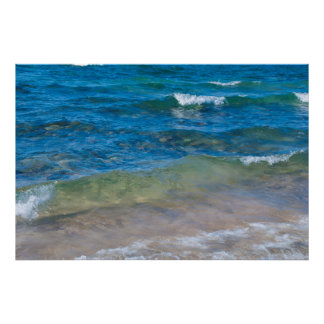 USA, Michigan. Clear Waters Of Lake Superior Poster