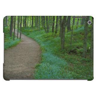 USA, Michigan. Miner's Falls Trail Cover For iPad Air