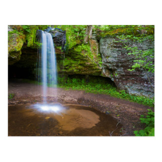 USA, Michigan. Scott's Falls In Upper Michigan Postcard