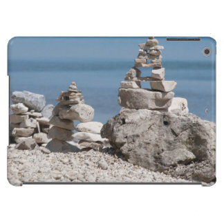 USA Michigan Stone Towers On The Beach Case For iPad Air