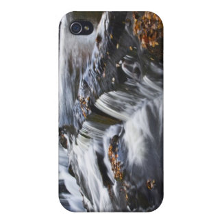 USA, Michigan, Upper Peninsula. Bond Falls and iPhone 4 Cases