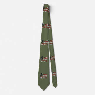 USA Military Green American Sgt Sergeant Tie