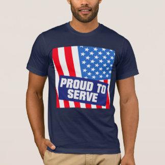 USA Military Service T-Shirt