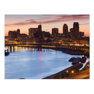 USA, Minnesota, Minneapolis, St. Paul 2 Postcard