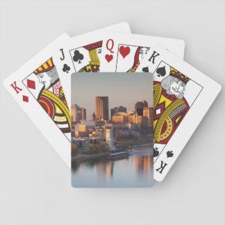 USA, Minnesota, Minneapolis, St. Paul 3 Playing Cards