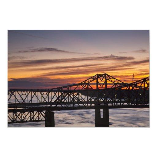 USA, Mississippi, Vicksburg. I-20 Highway and Photo Art