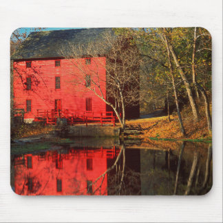 USA, Missouri, Alley Mill At Alley Spring Ozark Mouse Pad