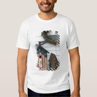 USA, Missouri, Herman: Patriotic Birdhouses, Tshirt