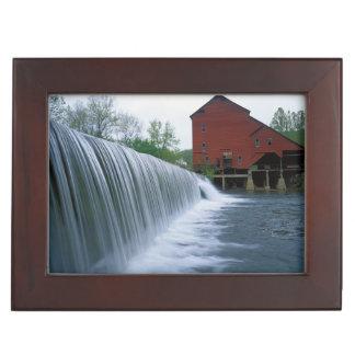 USA, Missouri, Ozark County, Rockbridge Mill Memory Boxes