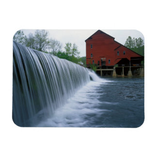 USA, Missouri, Ozark County, Rockbridge Mill Rectangular Photo Magnet