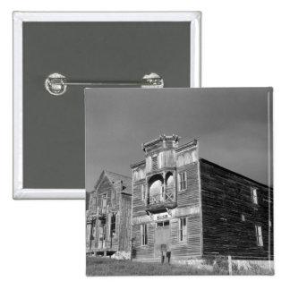 USA, Montana, Elkhorn Fraternity Hall meeting 15 Cm Square Badge