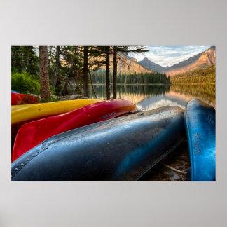 USA, Montana, Glacier National Park 3 Poster