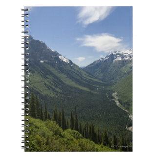 USA, Montana, Glacier National Park, scenic Notebook
