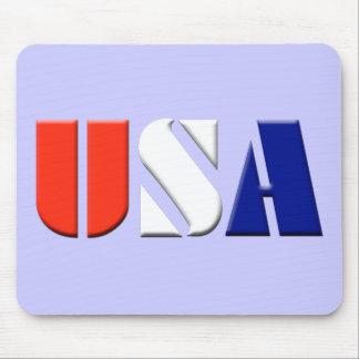 USA Mousepad light purple