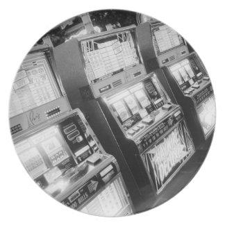 USA, Nevada, Las Vegas: Casino Slot Machines / Plate