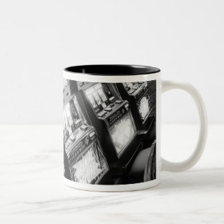USA, Nevada, Las Vegas: Casino Slot Machines / Two-Tone Coffee Mug