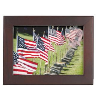 USA, New England, Rhode Island, Bristol Memory Boxes