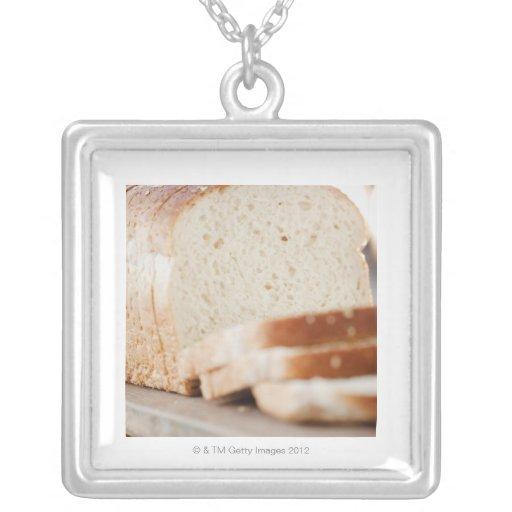 USA, New Jersey, Jersey City, Sliced bread Pendant