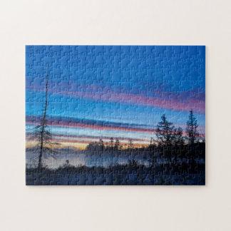 USA, New York, Adirondack Mountains Jigsaw Puzzle