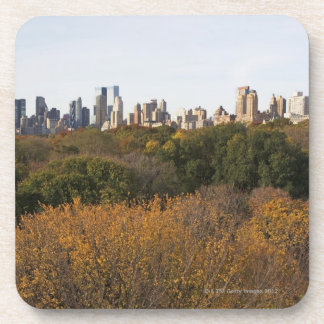 USA, New York City, Manhattan skyline from Coasters