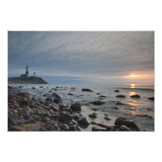 USA, New York, East Hampton. Montauk Point Photographic Print