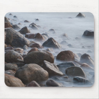 USA, New York, East Hampton. Ocean surf at Mouse Pad