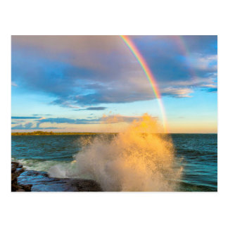 USA, New York, Lake Ontario, Clark's Point Postcard