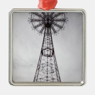 USA, New York, New York City, Brooklyn: Coney Metal Ornament
