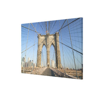 USA, New York, New York City, Brooklyn: Gallery Wrapped Canvas