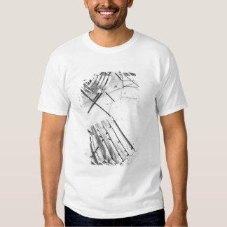 USA, NEW YORK: New York City Cafe Chairs, Tee Shirt