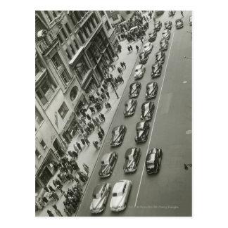USA New York New York City elevated view Postcard