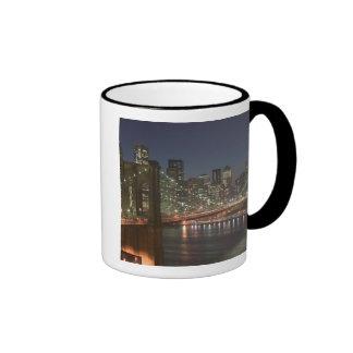 USA, New York, New York City, Manhattan: 10 Ringer Mug