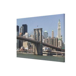 USA, New York, New York City, Manhattan: 13 Stretched Canvas Print