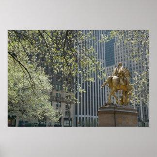 USA, New York, New York City, Manhattan: 16 Poster