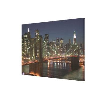 USA, New York, New York City, Manhattan: 2 Stretched Canvas Prints