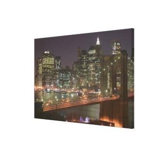 USA, New York, New York City, Manhattan: 3 Gallery Wrap Canvas