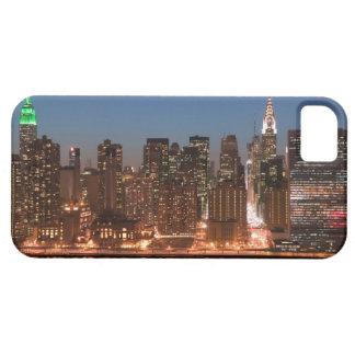 USA, New York, New York City, Manhattan: Aerial iPhone 5 Case