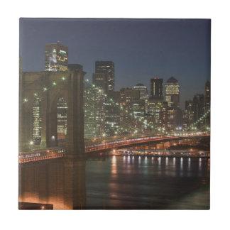 USA, New York, New York City, Manhattan Small Square Tile