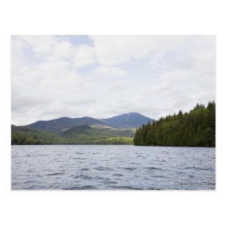 USA, New York State, Adirondack Mountains, Lake 4 Postcard